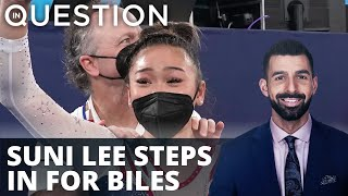 GOLD - USD Suni Lee steps in for Biles, triumphs for all-around gold