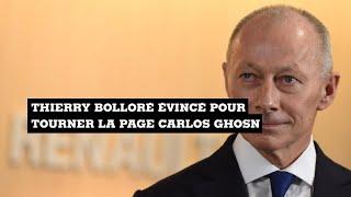 BOLLORE Renault : Thierry Bolloré sur la sellette pour tourner la page Carlos Ghosn