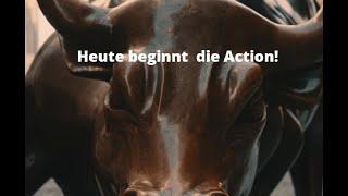 DOW JONES INDUSTRIAL AVERAGE Wall Street: Heute beginnt die Action! Videoausblick