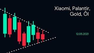 GOLD - USD Xiaomi, Palantir, Gold, Öl ( CMC BBQ 12.05.21)