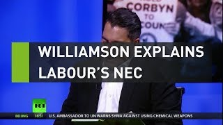 NEC CORP ORD Williamson explains Labour's NEC