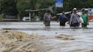 IOTA Fluten, Zerstörung und Leid in Lateinamerika durch Hurrikan Iota