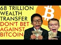DON'T BET AGAINST BITCOIN!! 68 TRILLION WEALTH TRANSFER COMING!! Aave, Elrond, Cardano, Crypto News
