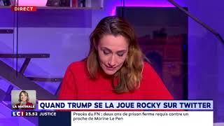 TWITTER INC. Quand Trump se la joue Rocky sur Twitter