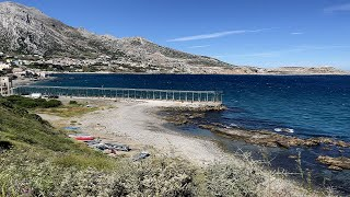 Llegada marroquíes a las playas de Ceuta
