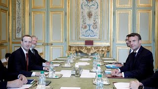 NETWORK INTERNATIONAL HOLDINGS ORD 10P Incontro Macron-Zuckerberg: nasce l'Autorità Garante dei Social Network