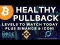 Bitcoin - Update On Bitcoin Price Action Plus Binance & Icon | BTC ICX BNB LTC ETH