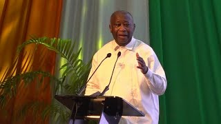 """Nouveau parti de Laurent Gbagbo : """" c'est une structure pour préparer mon retrait"""" • FRANCE 24"""