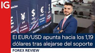 EUR/USD El EUR/USD se aleja del soporte semanal | Repaso de Forex