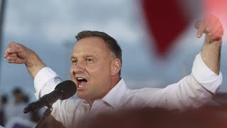 Poland presidential vote: Narrow victory for incumbent Andrzej Duda with 51.2 per cent
