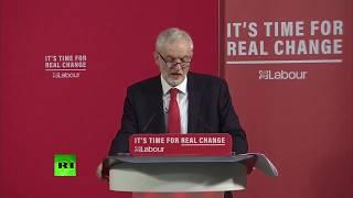 LIVE: Jeremy Corbyn holds press conference in London #GE19.