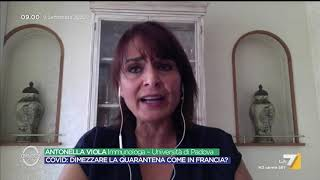 """ASTRAZENECA PLC Vaccino AstraZeneca, Antononella Viola: """"Sperimentazione bloccata? Il sistema di controllo ..."""