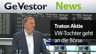 TRATON SE INH O.N. Volkswagen-Tochter Traton holpert an die Börse