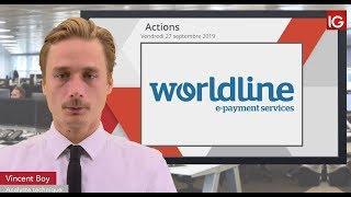 WORLDLINE Bourse - WORLDLINE, un intermédiaire dégrade le titre - IG 27.09.2019
