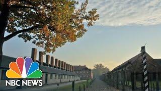 AMAZON.COM INC. Auschwitz Memorial Criticizes Amazon Show 'Hunters' Over 'Human Chess' Scene | NBC Nightly News