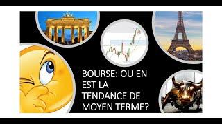 CAC40 INDEX Bourse: Où en est la tendance de moyen terme ? (23/01/21)
