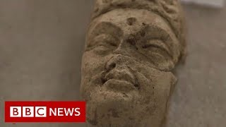 Afghanistan's destroyed Buddhas to return - BBC News