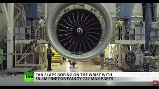 BOEING COMPANY THE Boeing faces $5M fine as former CEO departs with $62M