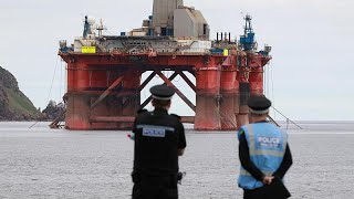 BP PLC ORD 'Climate of urgency': Tensions rising amid Greenpeace's BP protests
