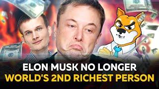 RIPPLE Elon Musk No Longer World's Second-Richest Person, Vitalik Buterin Burns $6B in SHIB Tokens, Ripple