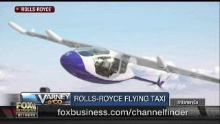 ROLLS-ROYCE HOLDINGS ORD SHS 20P Rolls Royce unveils flying taxi