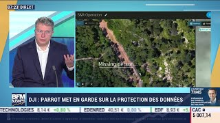 """PARROT Henri Seydoux (Parrot) : Parrot dévoile les drones """"Anafi USA"""""""