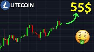 LITECOIN LITECOIN 55$ HAUSSE EN VUE !? btc analyse technique crypto monnaie