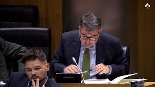 Esteban (PNV) reclama las competencias en Sanidad de las CCAA
