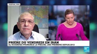 Prière du vendredi en Iran : le guide suprême Khamenei salue les frappes sur les bases américaines