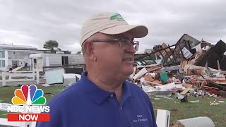 EMERALD Emerald Isle Mayor: 'The Devastation Is Just Unreal' After Dorian Tornado | NBC News Now