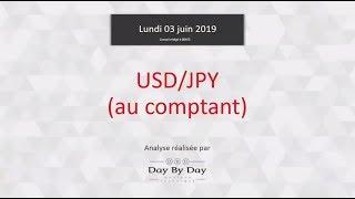 USD/JPY Vente USD/JPY - Idée de trading IG 03.06.2019