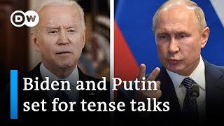 Biden and Putin meet in Geneva amid tensions   DW News
