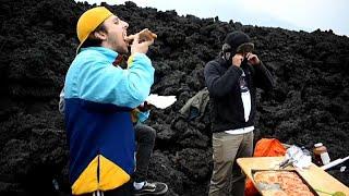 Pizza auf dem Vulkan: Die erstaunlichsten Videos der Woche am 15.05.