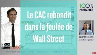 DOW JONES INDUSTRIAL AVERAGE Le CAC rebondit dans la foulée de Wall Street - 100% Marchés Daily - 20 Mai 2021
