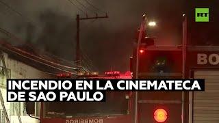 La Policía Federal de Brasil investigará las causas del incendio en la cinemateca de Sao Paulo