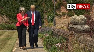 Trump 'excited' for second UK visit