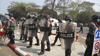 Zusammenstöße in Myanmar - UN-Botschafter spricht sich gegen Militärjunta aus