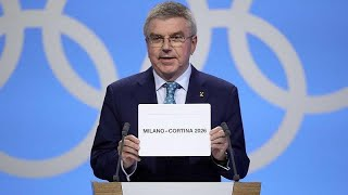 Les Jeux olympiques d'hiver 2026 attribués à Milan/Cortina d'Ampezzo