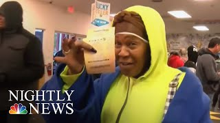 Mega Millions Will Grow To $2 Billion If There Is No Winner Tuesday | NBC Nightly News