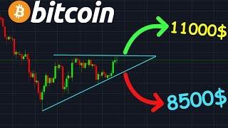 Bitcoin BITCOIN TRIANGLE EN FORMATION CRASH OU HAUSSE !? btc analyse technique crypto monnaie