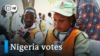 Nigeria election 2019: Voters go to polls after tense one week delay | DW News