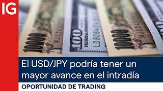 USD/JPY El USD/JPY podría tener un MAYOR avance en el INTRADÍA | Oportunidad de trading