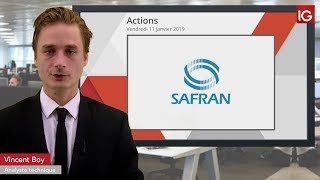 SAFRAN Bourse - SAFRAN, dégradation annoncée par JPMorgan - IG 11.01.2019