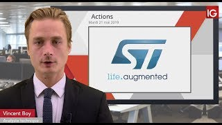 STMICROELECTRONICS Bourse - STMICROELECTRONICS, Huawei Vs Google - IG 21.05.2019