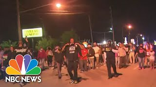 MAN Protesters Demand Transparency, Accountability In Fatal Shooting Of NC Man | NBC News NOW