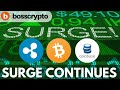 Ripple - Crypto Surge Continues! Market Update, Coinbase and Ripple XRP News, Boss Crypto