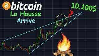 BITCOIN BITCOIN 10.150$ SI BREAK HAUSSIER !? btc analyse technique crypto monnaie