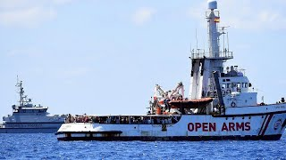 Justiça italiana ordena desembarque e apreensão do Open Arms