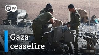 Israel: How is ceasefire on Gaza border holding? | DW News