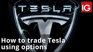 TESLA INC. How to trade Tesla using options